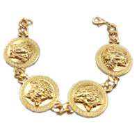 Versace 2018 new style brand high-end pendant head bracelet F0803-1