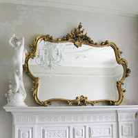 Miss Lala's Gold Looking Glass|Mirrors|Mirrors & Screens|French Bedroom Company