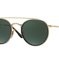 Ray-Ban ROUND DOUBLE BRIDGE Gold, RB3647N | Ray-Ban® Canada