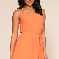 McKenna Dress - Peach
