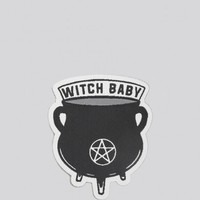 Witch Baby Patch
