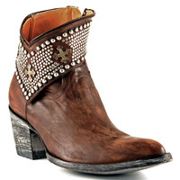 Old Gringo Clovis BL1446-4 Brass Leather Ankle Boots