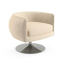 Knoll D'Urso Swivel Lounge Chair