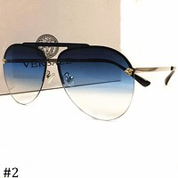 Versace 2018 new men and women models large frame polarized sunglasses F-AJIN-BCYJSH #2