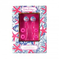 Lilly Pulitzer Earbuds - She She Shell
