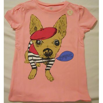 Old Navy Girls Tee Shirts Short Sleeve Toddlers Kids Baby NEW