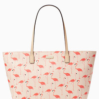 Kate Spade New York Shore Street Flamingo Margareta Tote