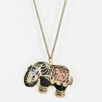 Enameled Pendant Necklace - Urban Outfitters