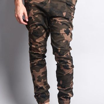 Men's Joggers With Side Hip Pockets