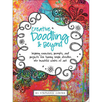 Quarry Books Creative Doodling and Beyond Coloring Activity Book Learn to Doodle