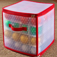 Christmas Holiday Storage Container Bag Box Lights Ornaments Tree NEW