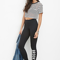 Brooklyn Nylon-Blend Leggings