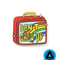 Danny Brito - Don't Grow Up Lunch Box Pin