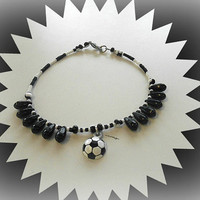 Soccer Anklet Bracelet,Sports Mom ,Athletic Jewelry,Soccer Jewlery, Team Jewelry, Summer Games,Summer Sports,Sports Jewelry,Direct Checkout
