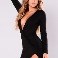 Sugar Frenzy Dress - Black