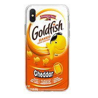 CHEDDAR GOLDFISH CUSTOM IPHONE CASE