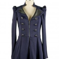 In the Navy Jacket - Outerwear - Clothing