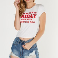 Swear It Was Friday Graphic Tee