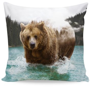 Bear Mountain Couch Pillow