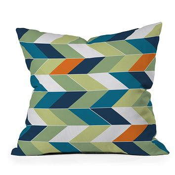 Gabi Forward Throw Pillow