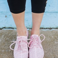 Chasing Daylight Sneakers - Blush