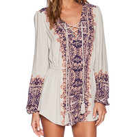 Free People Wildest Moments Tunic in Tan
