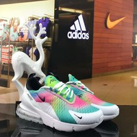 Nike Air Max 270 New atmospheric cushion sneakers sports shoes