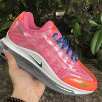 HCXX 19July 934 Nike Air Max 720-95 Heron Preston By You Transparent Flyknit Breathable Running Shoes