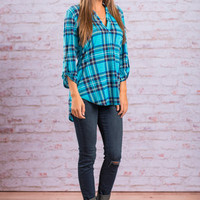 This Plaid Is Here To Stay Top, Sky