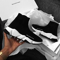 Balenciaga Classic Trending Woman Men Stylish Breathable Sneakers Running Shoes I/A