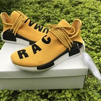 Adidas PW Human Race NMD Yellow Size 36-46