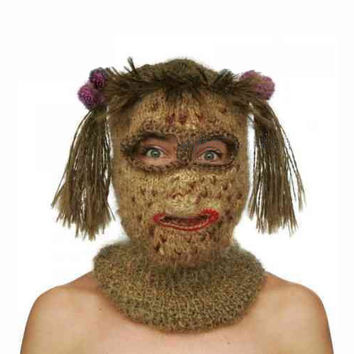 Funny Balaclava Hat Mask for Freak Show and Fancy Ball