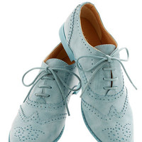 ModCloth Menswear Inspired Blue Suave Shoes Flat