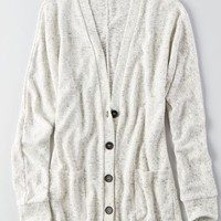 AEO Women's Feather Light Boyfriend Cardigan
