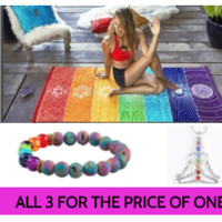 Chakra Healing Collection - All 3 for the pice one