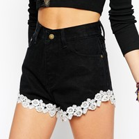 Your Eyes Lie Glam Shorts