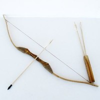 SGS® Wooden Bow Set with 30 Arrows