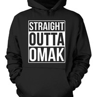 Straight Outta Omak City. Cool Gift - Hoodie