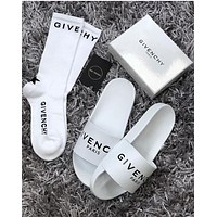 '' GIVENCHY '' Comfortable Loose Slippers Shoes