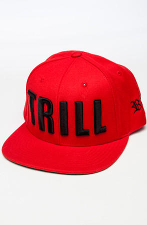 Image of Trill Snapback (Red)