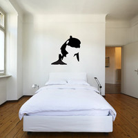 Large Orca Killer Whale Vinyl Wall Decal Sticker Graphic