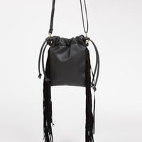 Side Fringe Messenger Bag