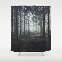 Through The Trees Shower Curtain by Tordis Kayma | Society6