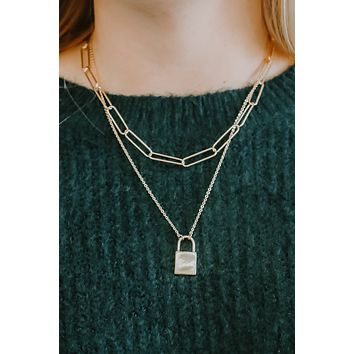 Keep Me Safe Necklace