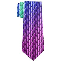Halloween Chinese Celestial Dragon Scales Costume All Over Neck Tie