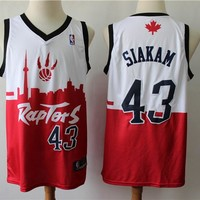 Men's Pascal Siakam Toronto Raptors White Red City Edition SP Swingman Jersey - Best Deal Online