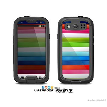 The Neon ColorBar Skin For The Samsung Galaxy S3 LifeProof Case