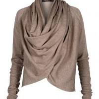 All Saints Pirate Cowl Top