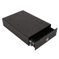 One Touch SpringLoaded Personal Safe Blk