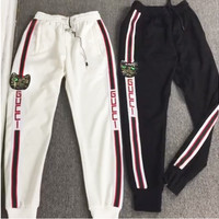 Gucci New Fashion Women Men Loose Sport Pants Casual Sweatpants